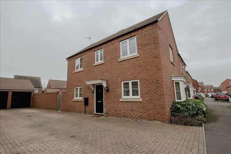 3 Bedrooms Semi Detached House for sale in Woolpack Grange, Oakridge Park, Milton Keynes