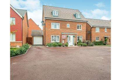 5 Bedrooms Detached House for sale in Lima Way, Cardea, Peterborough, Cambridgeshire