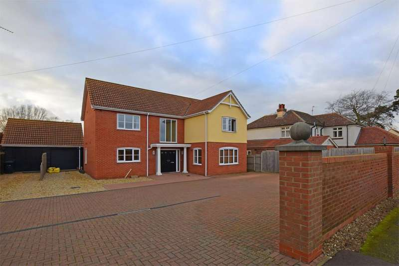 4 Bedrooms Detached House for sale in Sandy Lane, South Wootton