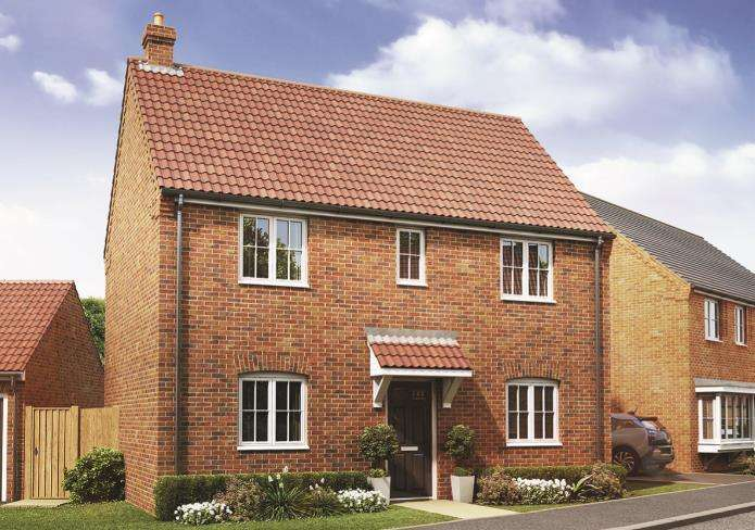 3 Bedrooms Detached House for sale in Mill View, Cowbit, Spalding