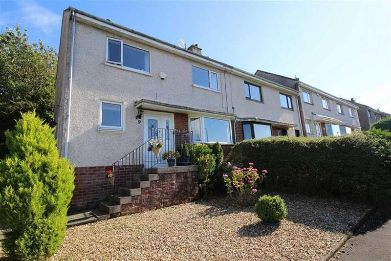 3 Bedrooms End Of Terrace House for sale in St. Andrews Drive, Gourock