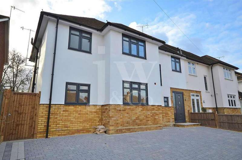 4 Bedrooms Semi Detached House for sale in Driftwood Avenue, Chiswell Green