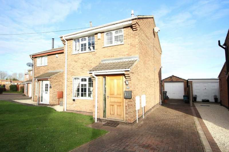 3 Bedrooms Semi Detached House for sale in Francis Drive, Loughborough