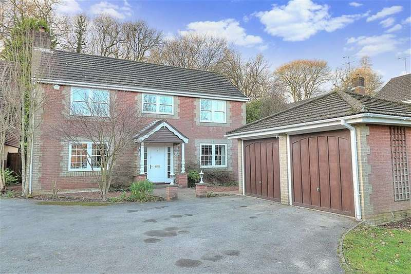 4 Bedrooms Detached House for sale in Tavy Close, Valley Park, Chandlers Ford, Hampshire