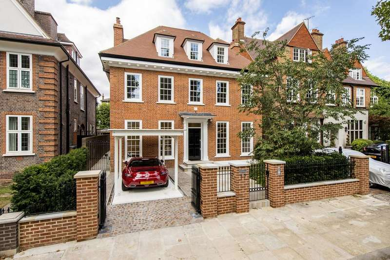 5 Bedrooms House for rent in Wadham Gardens, London, Primrose Hill, NW3