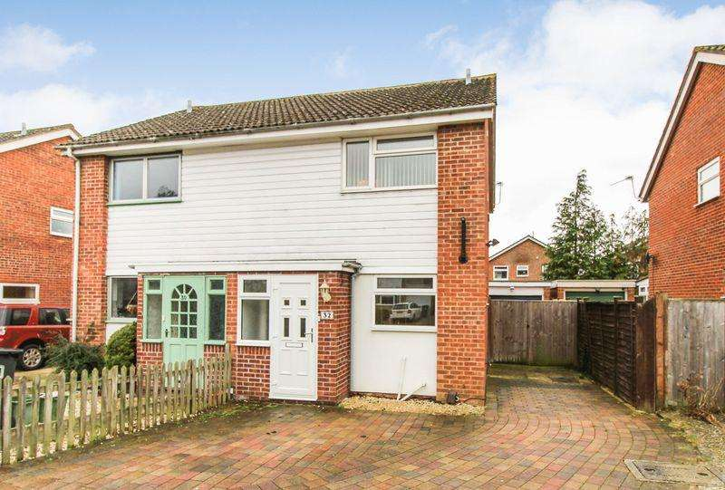 2 Bedrooms Semi Detached House for sale in Mersey Way, Thatcham