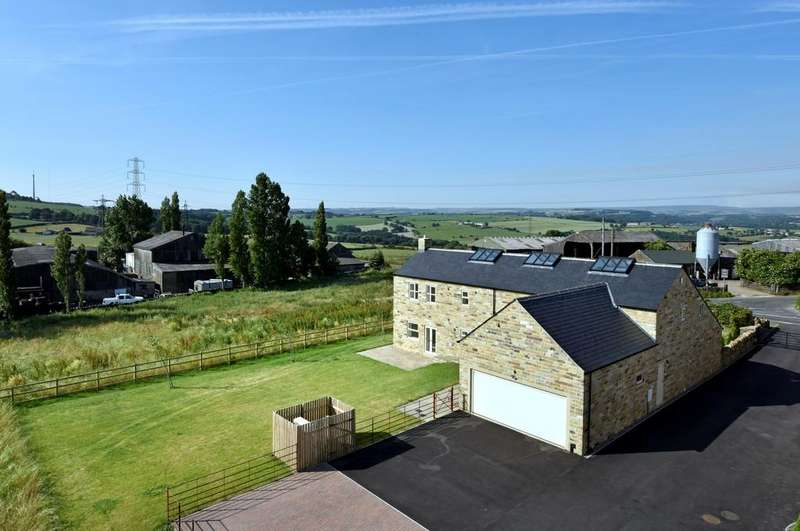 4 Bedrooms Barn Conversion Character Property for sale in Dransfield Hill Farm, Liley Lane, Upper Hopton