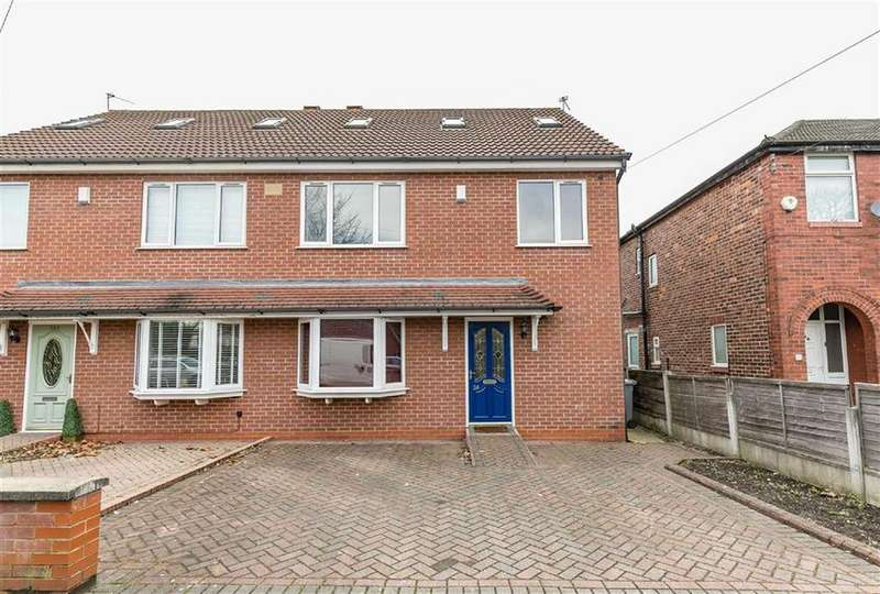 4 Bedrooms Semi Detached House for sale in Lime Road, Stretford