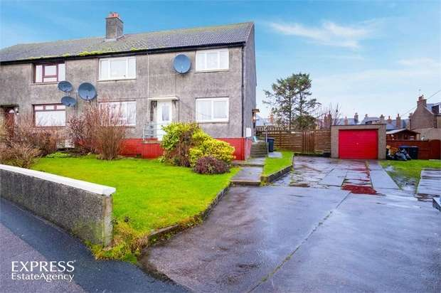 2 Bedrooms Flat for sale in Duncan Crescent, Peterhead, Aberdeenshire