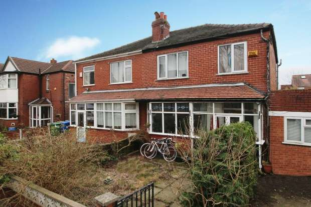 3 Bedrooms Semi Detached House for sale in Rokeby Avenue, Stretford, Greater Manchester, M32 8HU