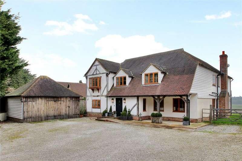 5 Bedrooms Detached House for sale in Rye Road, Newenden, Cranbrook, Kent, TN18