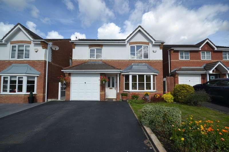 4 Bedrooms Detached House for sale in Peel Hall Avenue, Tyldesley