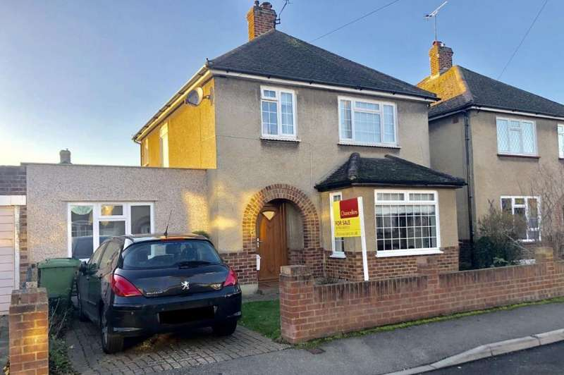 4 Bedrooms Detached House for sale in Ashford, Surrey, TW15