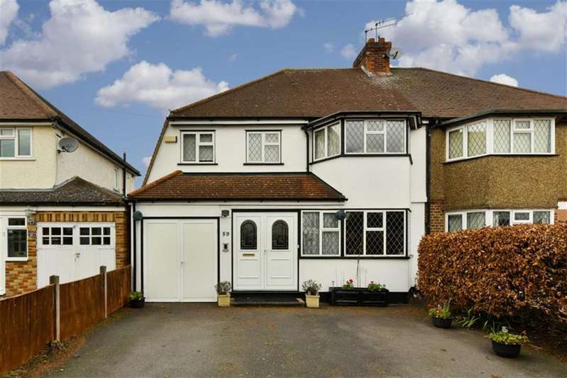 4 Bedrooms Semi Detached House for sale in Court Farm Avenue, Epsom, Surrey