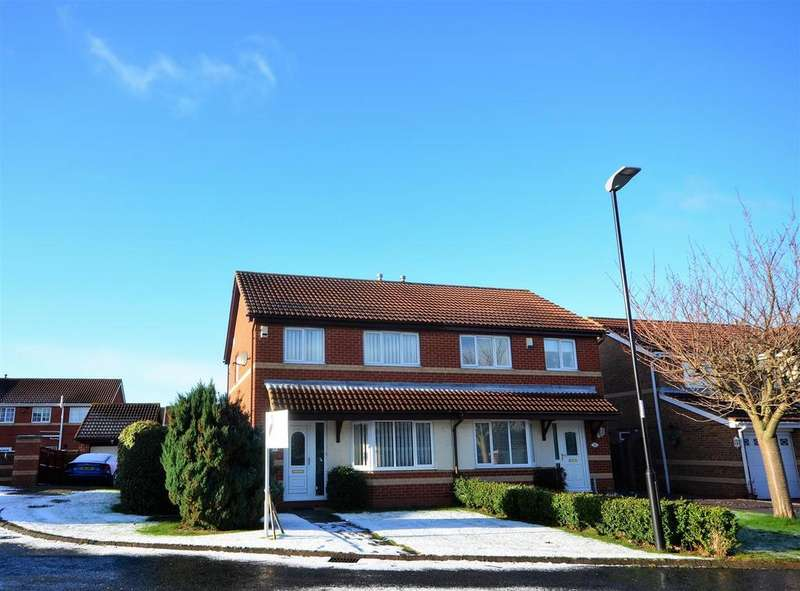 3 Bedrooms Semi Detached House for sale in Maydown Close, Fulford Park, Sunderland