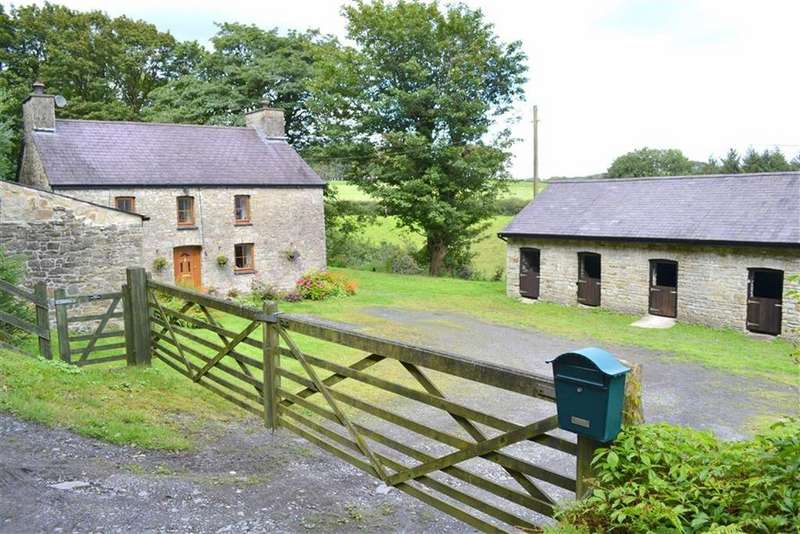 4 Bedrooms Smallholding Commercial for sale in Talgarreg, Llandysul, Ceredigion