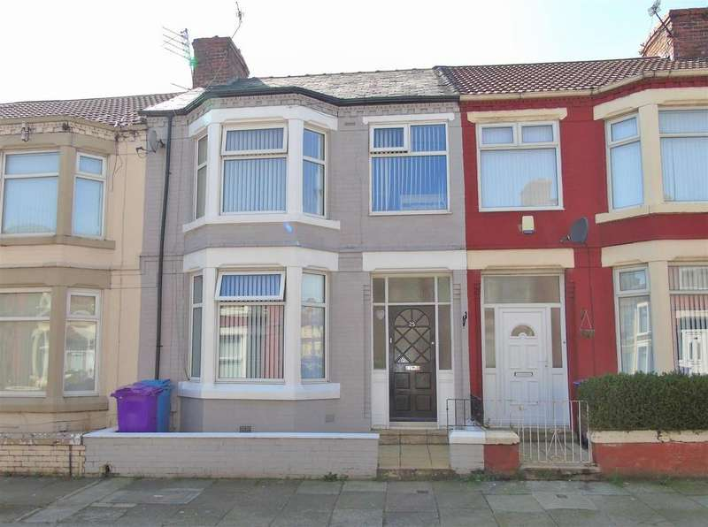 3 Bedrooms Terraced House for sale in Goodacre Road, Liverpool