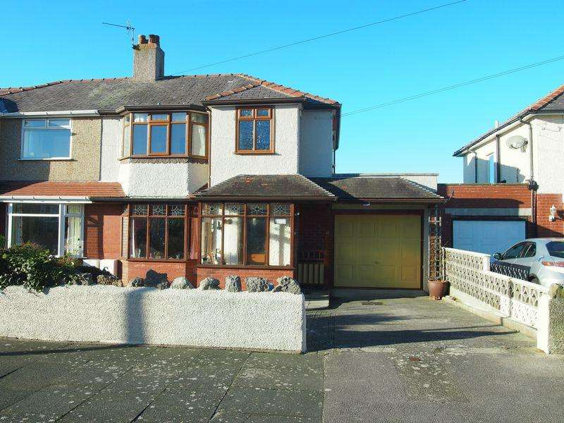 3 Bedrooms Semi Detached House for sale in Twemlow Parade, Morecambe