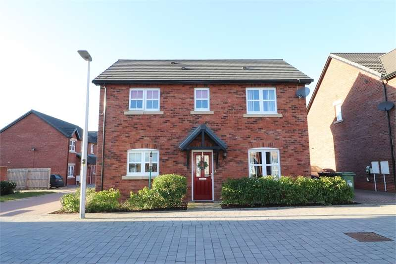 3 Bedrooms Detached House for sale in CA6 4EB Maxwell Drive, Kingstown, Carlisle, Cumbria