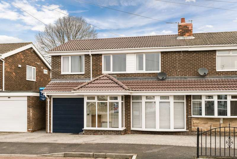 4 Bedrooms Semi Detached House for sale in Tantallon, Birtley
