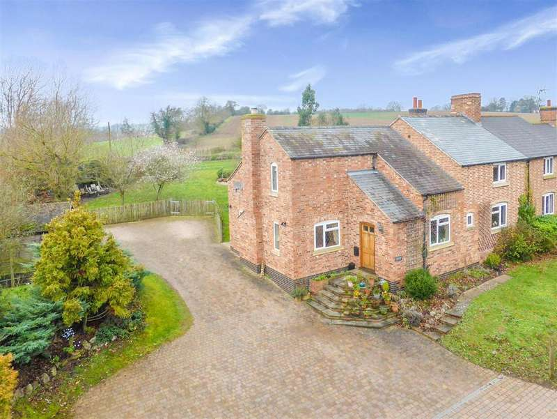 3 Bedrooms House for sale in 2 Park Farm Cottages, Alcester Road, Wootton Wawen, Henley-In-Arden