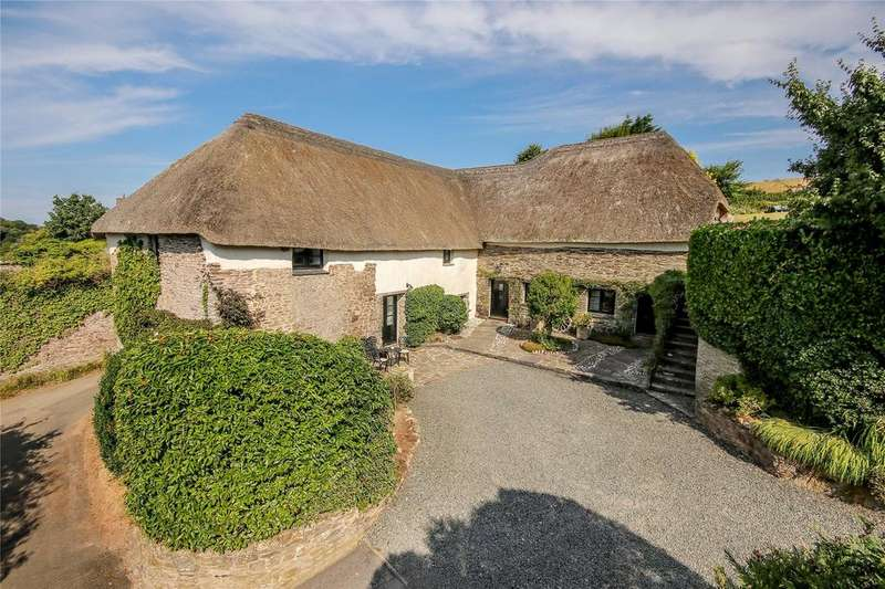 4 Bedrooms Barn Conversion Character Property for sale in Dunstone, Near South Pool, Kingsbridge, Devon, TQ7