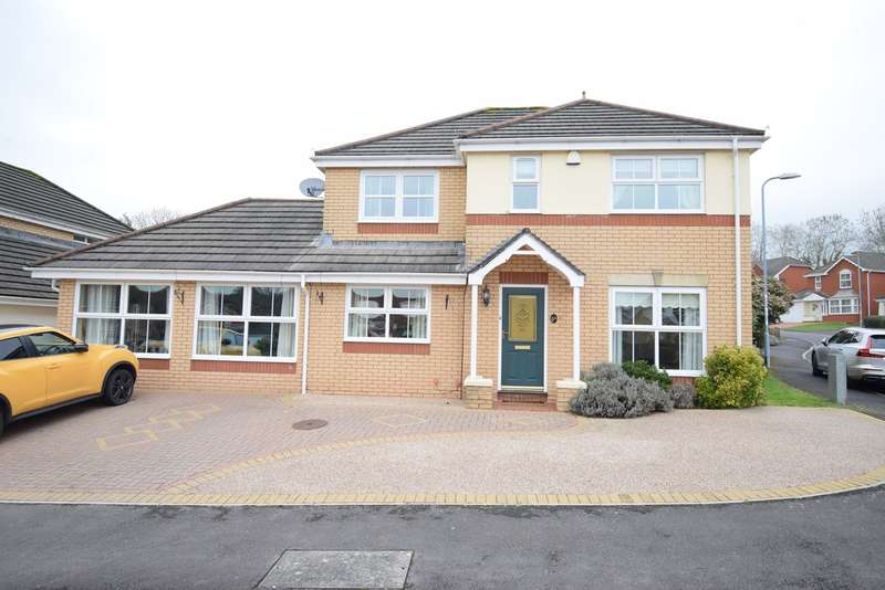 4 Bedrooms Detached House for sale in Cory Park, Llantarnam, Cwmbran, NP44