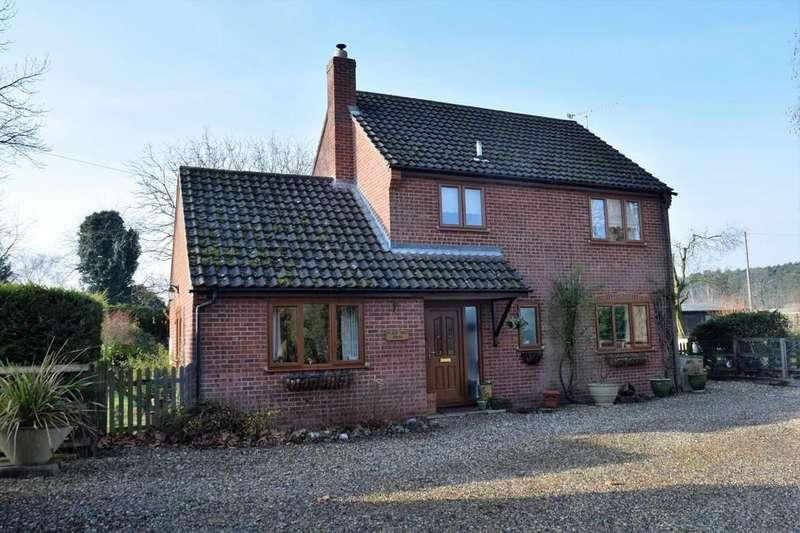 3 Bedrooms Detached House for sale in Rushford, Norfolk