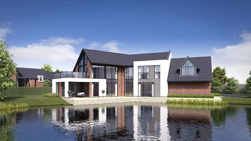 5 Bedrooms Detached House for sale in Waterside, The Lakes, South Park Drive