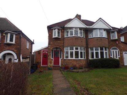 3 Bedrooms Semi Detached House For Sale In Broad Meadow Lane Kings Norton Birmingham