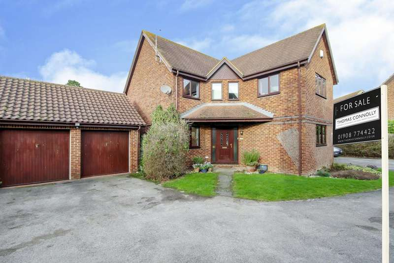 3 Bedrooms Detached House for sale in Aldrich Drive, Willen, Milton Keynes MK15