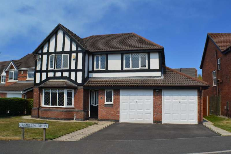 4 Bedrooms Detached House for sale in Camellia Drive, Clayton-le-Woods, Leyand PR25