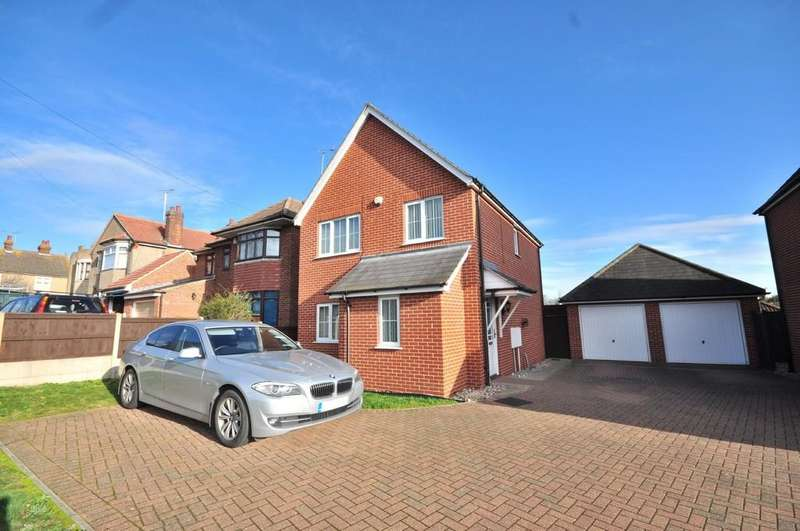 3 Bedrooms Detached House for sale in Old Heath Road, Colchester, CO2 8DD