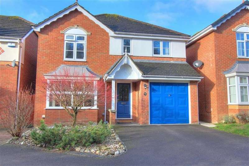 4 Bedrooms Detached House for sale in Wild Cherry Way, Knightwood Park, Chandlers Ford, Hampshire