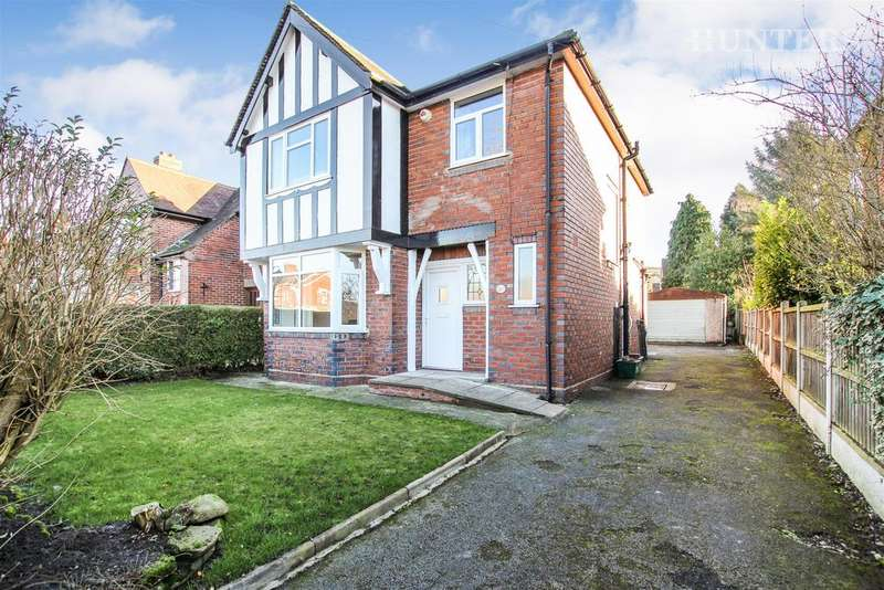 3 Bedrooms Detached House for sale in Baddeley Green Lane, Stoke-on-Trent, ST2 7JL