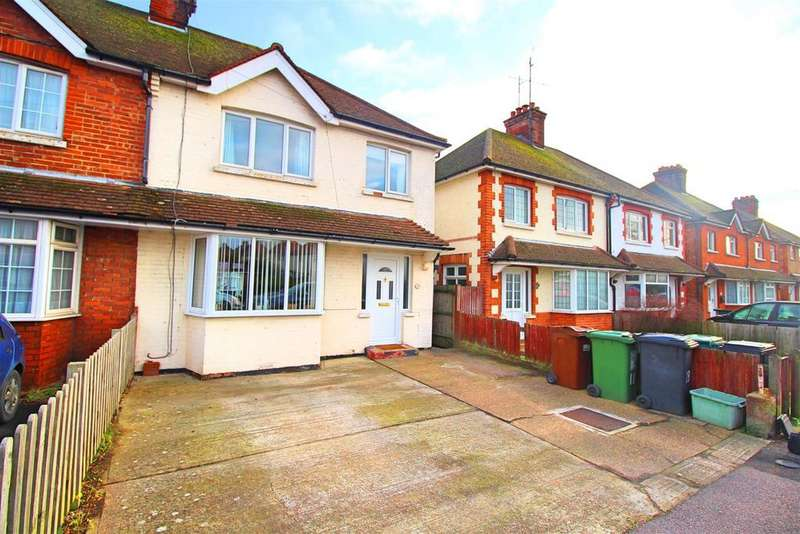 3 Bedrooms Semi Detached House for sale in Kingston Road, Eastbourne