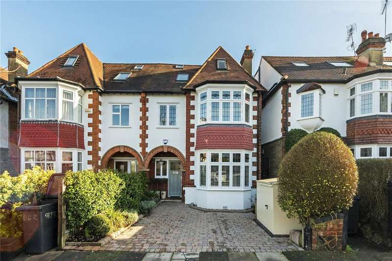 5 Bedrooms Semi Detached House for sale in Richmond Park Road, London, SW14