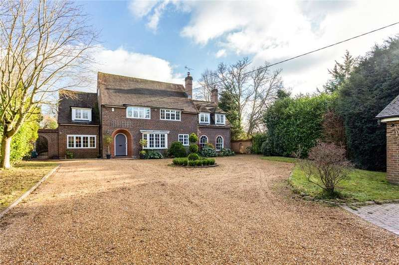 5 Bedrooms Detached House for sale in Fairfield Road, Shawford, Winchester, Hampshire, SO21