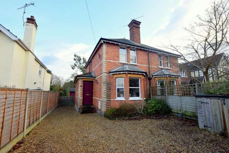 2 Bedrooms Semi Detached House for sale in Kent Road, Fleet