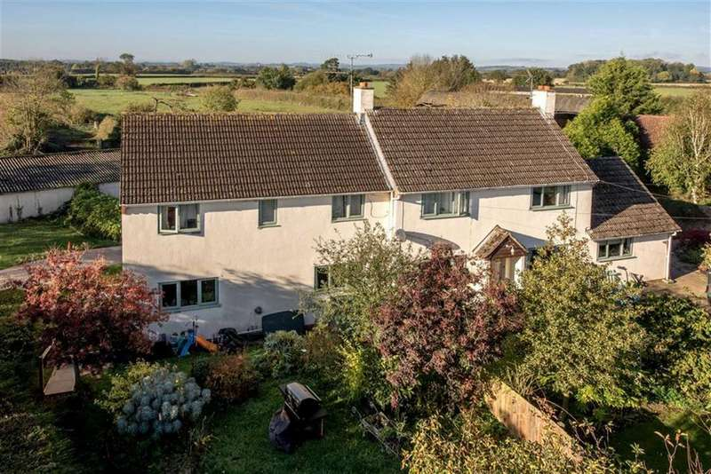 5 Bedrooms Detached House for sale in Kingston St Mary, Taunton, Somerset, TA2