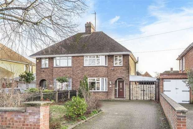 3 Bedrooms Semi Detached House for sale in Goldington Road, Bedford
