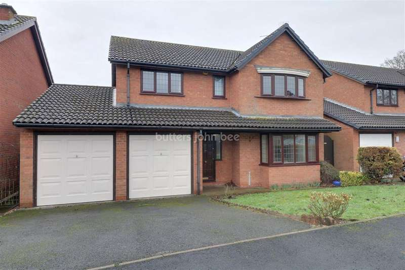 4 Bedrooms Detached House for sale in Stafford