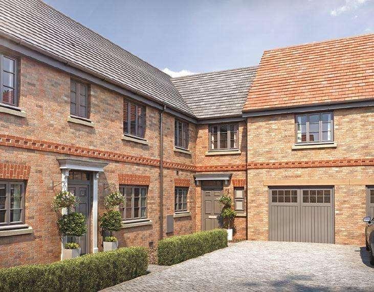 3 Bedrooms Terraced House for sale in Plot 33, Shepherds Mews, Shefford, SG17