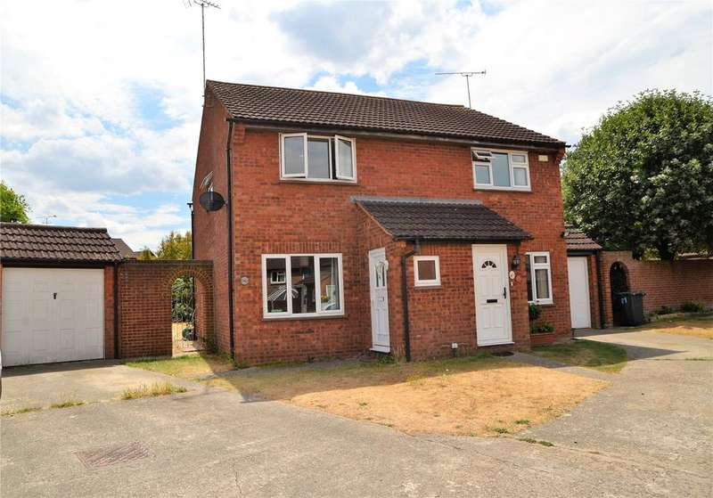 2 Bedrooms Semi Detached House for sale in Devonshire Gardens, Tilehurst, Reading, Berkshire, RG31