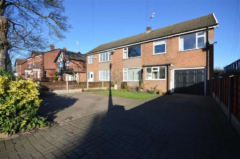 4 Bedrooms Semi Detached House for sale in Didsbury Road, Heaton Norris