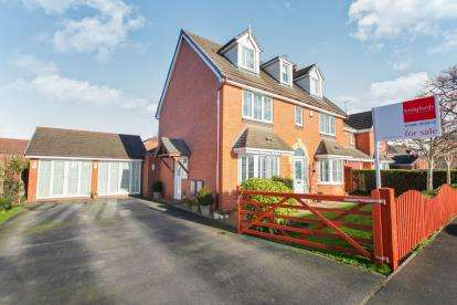 5 Bedrooms Detached House for sale in Moors Lane, Winsford, Cheshire
