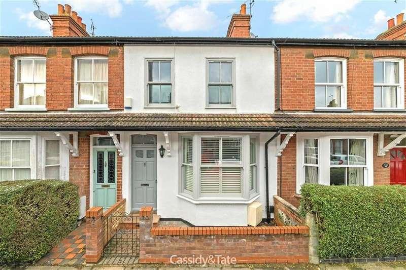 3 Bedrooms Terraced House for sale in Burnham Road, St Albans, Hertfordshire