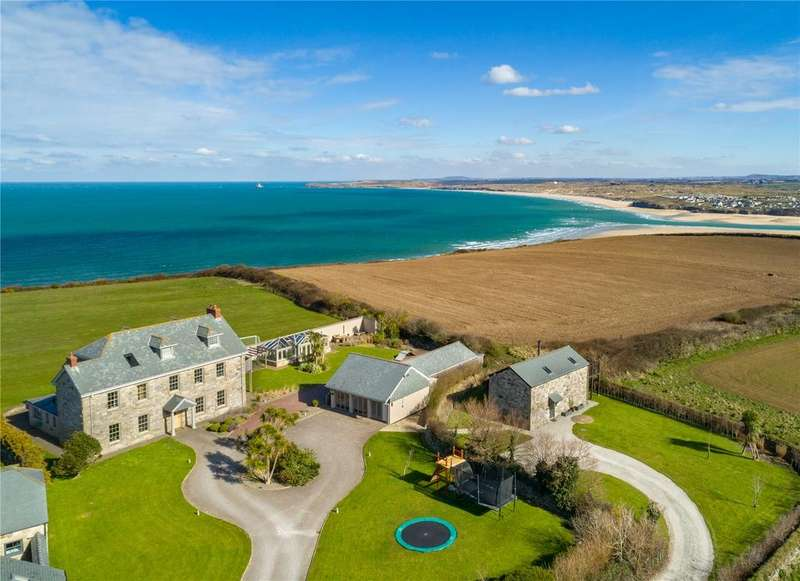 7 Bedrooms Detached House for sale in Gonwin Manor Drive, Carbis Bay, St. Ives, Cornwall, TR26