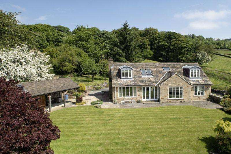 4 Bedrooms Detached House for sale in Lower Windle, Windle Royd Lane, Warley, HX2 7LY