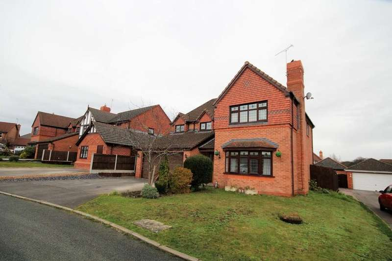 4 Bedrooms Detached House for sale in Muirfield Close, Wrexham